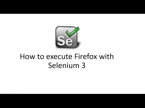 How to start Firefox Browser in Selenium webdriver 3 with GeckoDriver