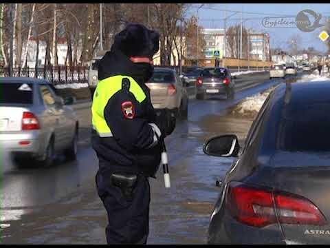 Цветы автоледи от О МВД к 8 марта (эфир 09.03.2018)