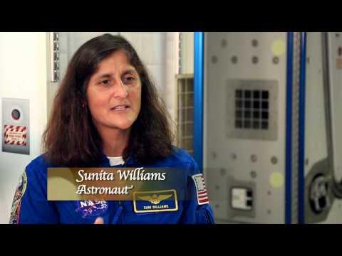 Shades of Shakti Suni Williams at NASA's Johnson Space Center Part 1