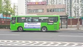 서울교통네트웍 150번 하이거 하이퍼스 전기버스 도봉구…