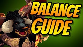 Balance Druid PvE Guide 8.0.1 | Talents & Rotation & Stats | World of Warcraft Battle for Azeroth