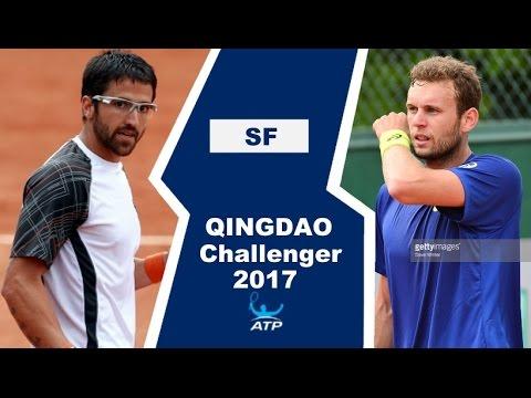 Janko Tipsarevic vs Mathias Bourgue Highlights QINGDAO 2017