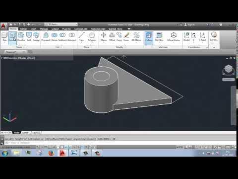 autocad programing tutorial 3D flash