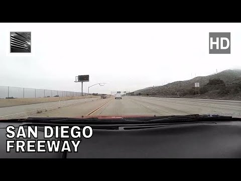 Driving from San Diego to Irvine on Interstate 5