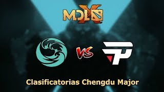 Incubus vs Team Unknown - SemiFinal para el segundo Cupo  Chengdu Major
