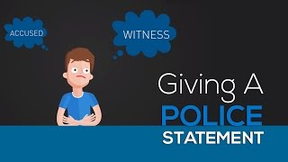 Giving a Police Statement in Australia