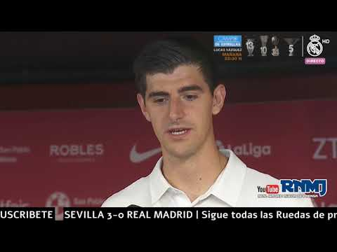 COURTOIS declaraciones post Sevilla 3-0 Real Madrid (26/09/2018) | LIGA JORNADA 06