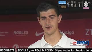 COURTOIS declaraciones post Sevilla 3-0 Real Madrid (26/09/2018) | LIGA JORNADA 06