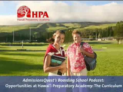 Opportunities at Hawai'i Preparatory Academy: The Curiculum