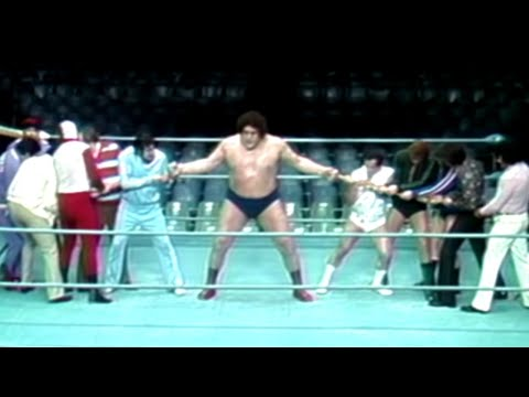 WWE Classics- Andre The Giant, Feats of Strength