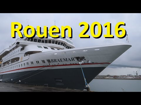 Rouen cruise aboard the Braemar, August 2016  Fred. Olsen Cruise Lines