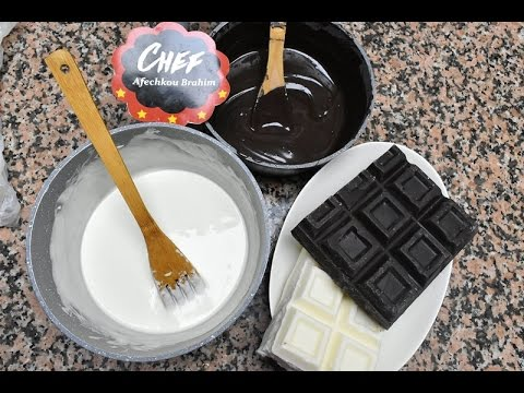 أسهل و أنجح طريقة لإذابة و تسييح الشوكولاتة البيضاء و السوداء + الأخطاء ...