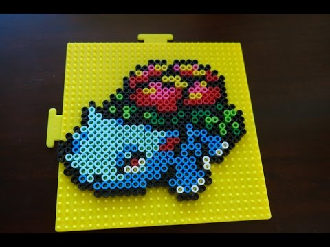 pokemon perler bead designs how to make venusaur youtube
