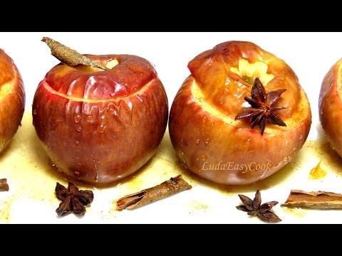 Запеченные #яблоки с корицей. Простой и полезный десерт #LudaEasyCook