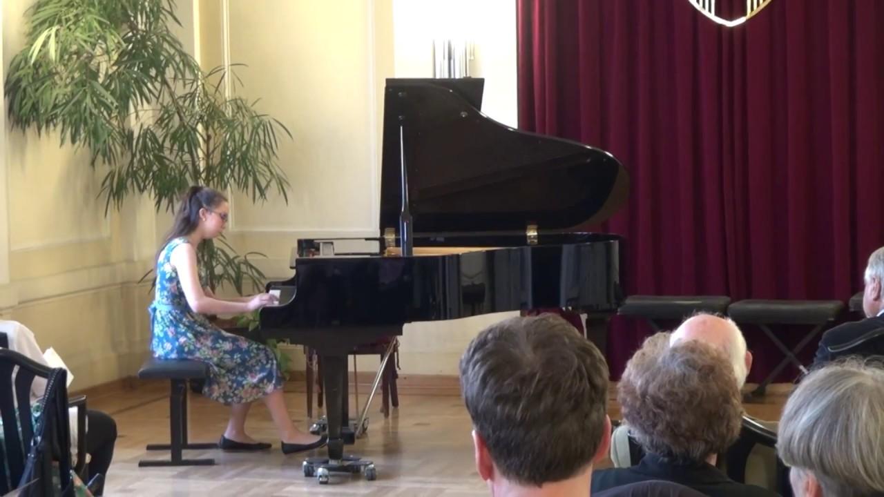 Angela plays Mozart Fantasy in d-minor