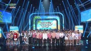 [160826] EXO Lotto/Louder 2nd Win @ Music Bank with NCT Dream moment