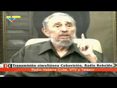 [1/7] Fidel Castro entrevistado por reconocidos comunicadores de VTV y TeleSUR.