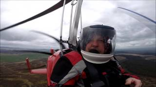Best way to see the mountains, steve's gyrocopter 2017