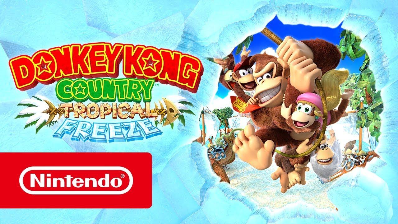 Kong Donkey Switch FreezeNintendo CountryTropical Jeux OknXwP80