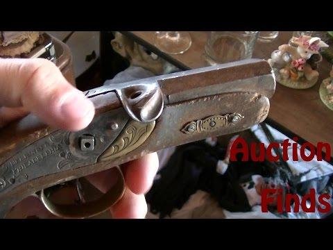"""Storage Auction Finds 8 -24-14 """"Derringer Pistol Unit"""""""