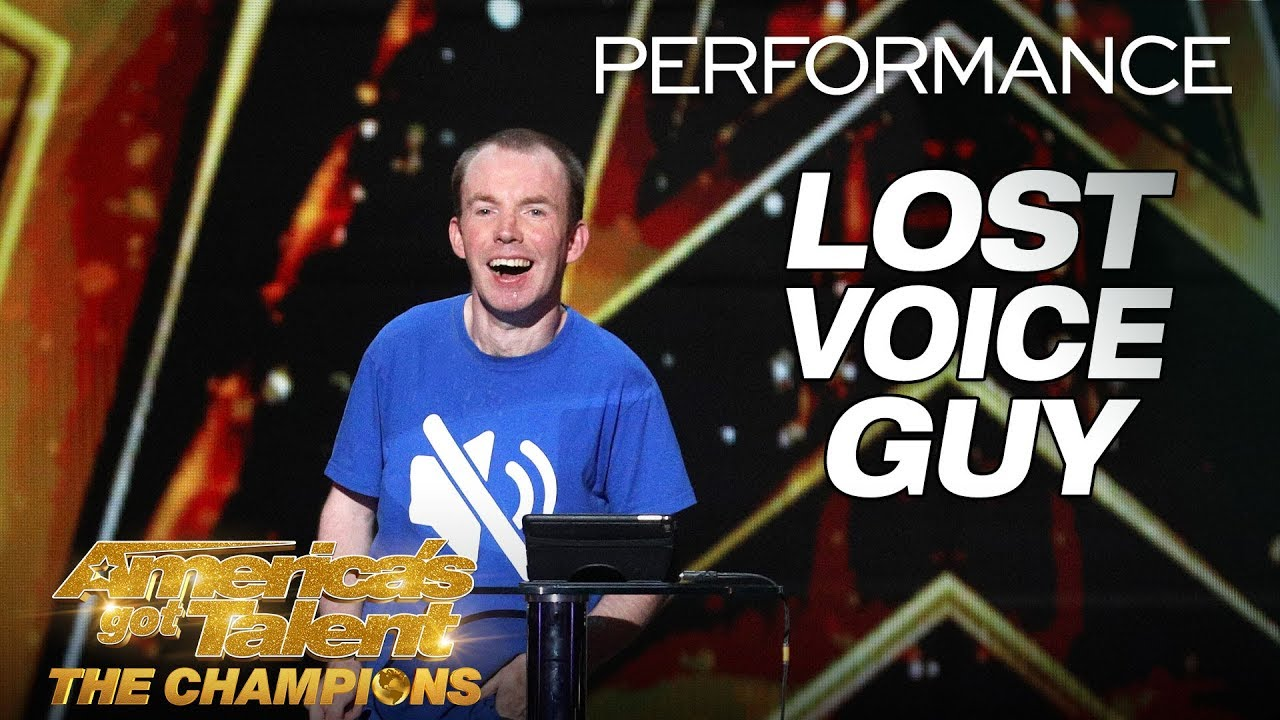 Lost Voice Guy: Comedian Gives Hilarious Take On ...
