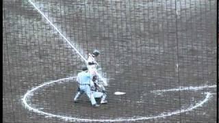 2010年10月24日関西学生野球リーグ同志社vs立命1回戦 徳山武陽(立命館...
