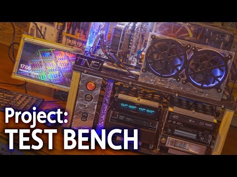 Project TEST BENCH - A DIY PC Case Build Story