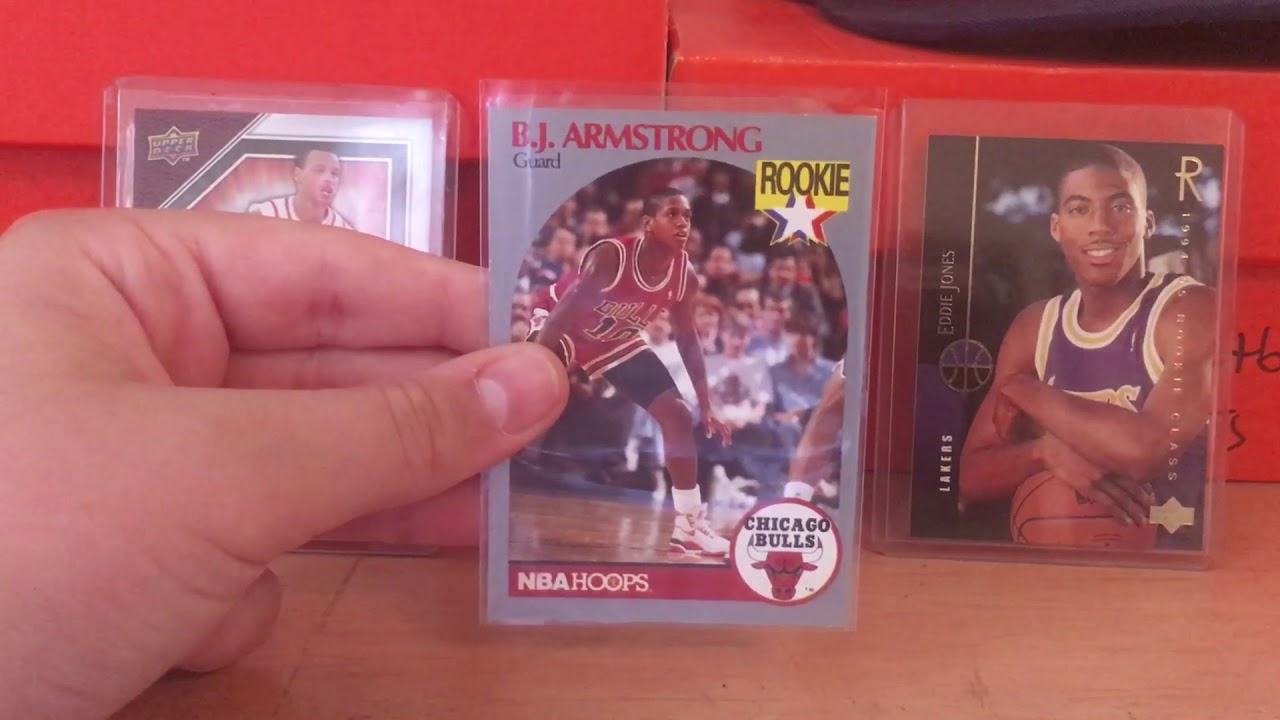 Bj Armstrong Rookie Card Review Youtube