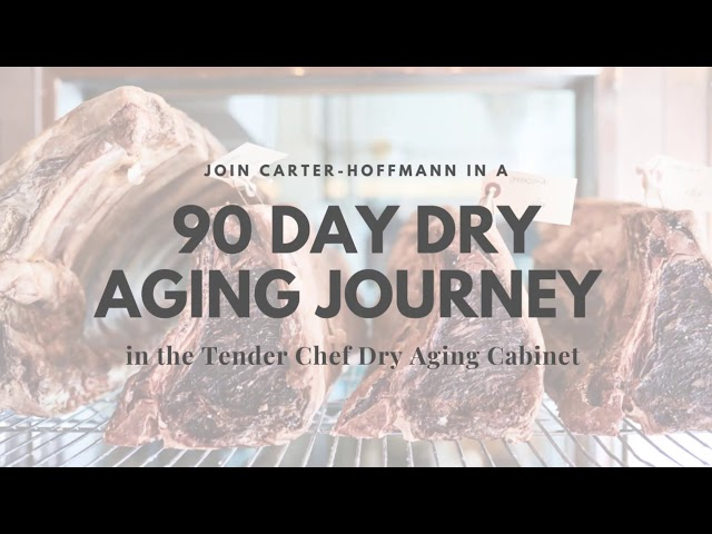 Carter-Hoffmann | Tender Chef Dry Aging Cabinet | 90 Day Age