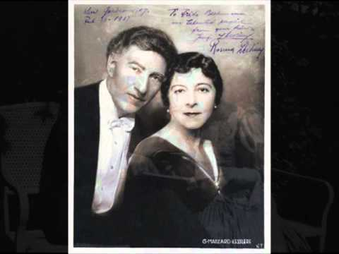 Josef & Rosina Lhévinne play Debussy Fêtes