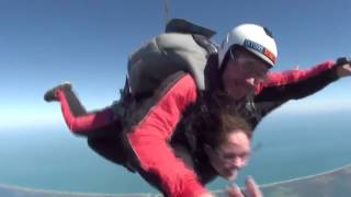 Skydive Sebastian   Kayla's Skydive