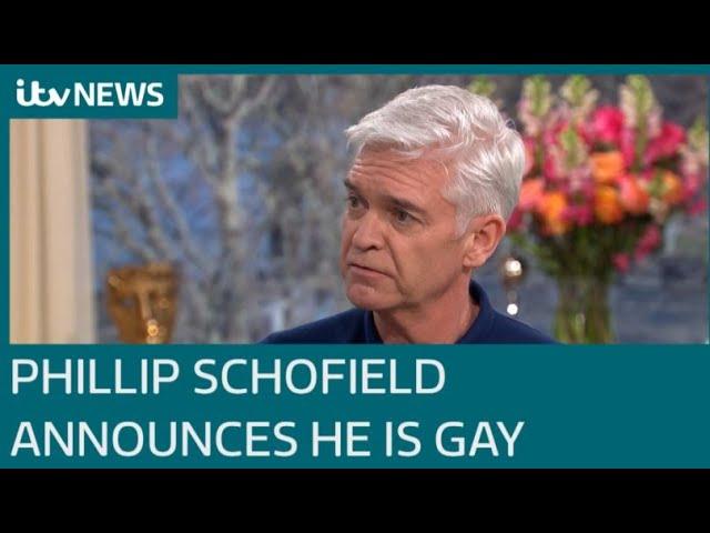 Phillip Schofield: A Significant Moment