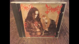 Morbid / Mayhem (Full Album) A Tribute To The Black Emperors - 1995 [Split] CD - insert photos - HD