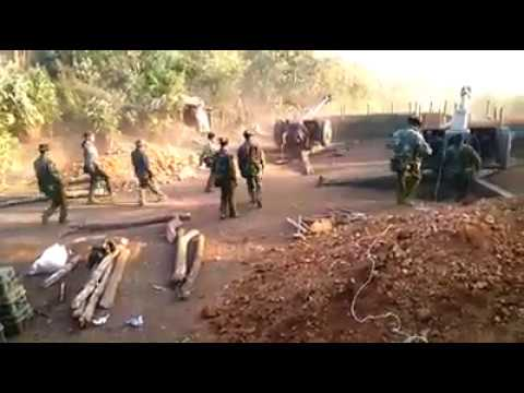 Burma Army Attacks Kachin at Gidon Mountain 13/11/16