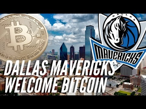 Dallas Mavericks Welcome Bitcoin As A Means Of Payment