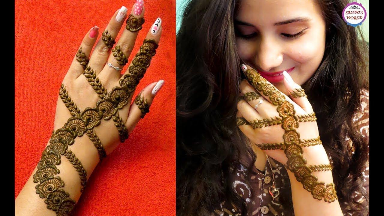 latest mehndi designs for hand