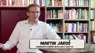 Martin Jaroš, komunikačný manažér METRO Cash & Carry SR