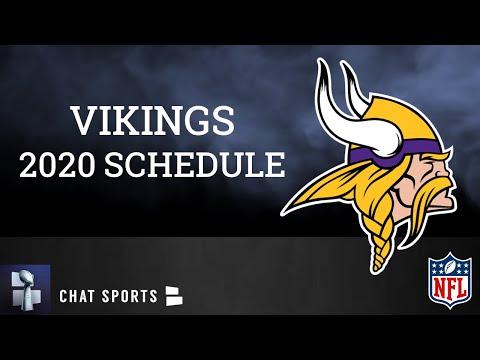 2020-minnesota-vikings-schedule-|-vikings-news-&-rumors