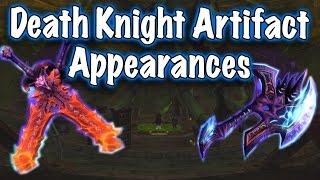Legion Beta - Artifact Weapon Appearances: Death Knight (Jessiehealz)