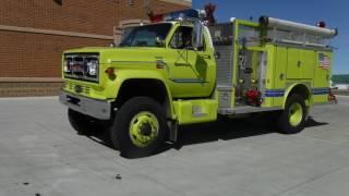 1984 GMC 7000 Fire Truck 1000 GPM Pump Unit thumbnail