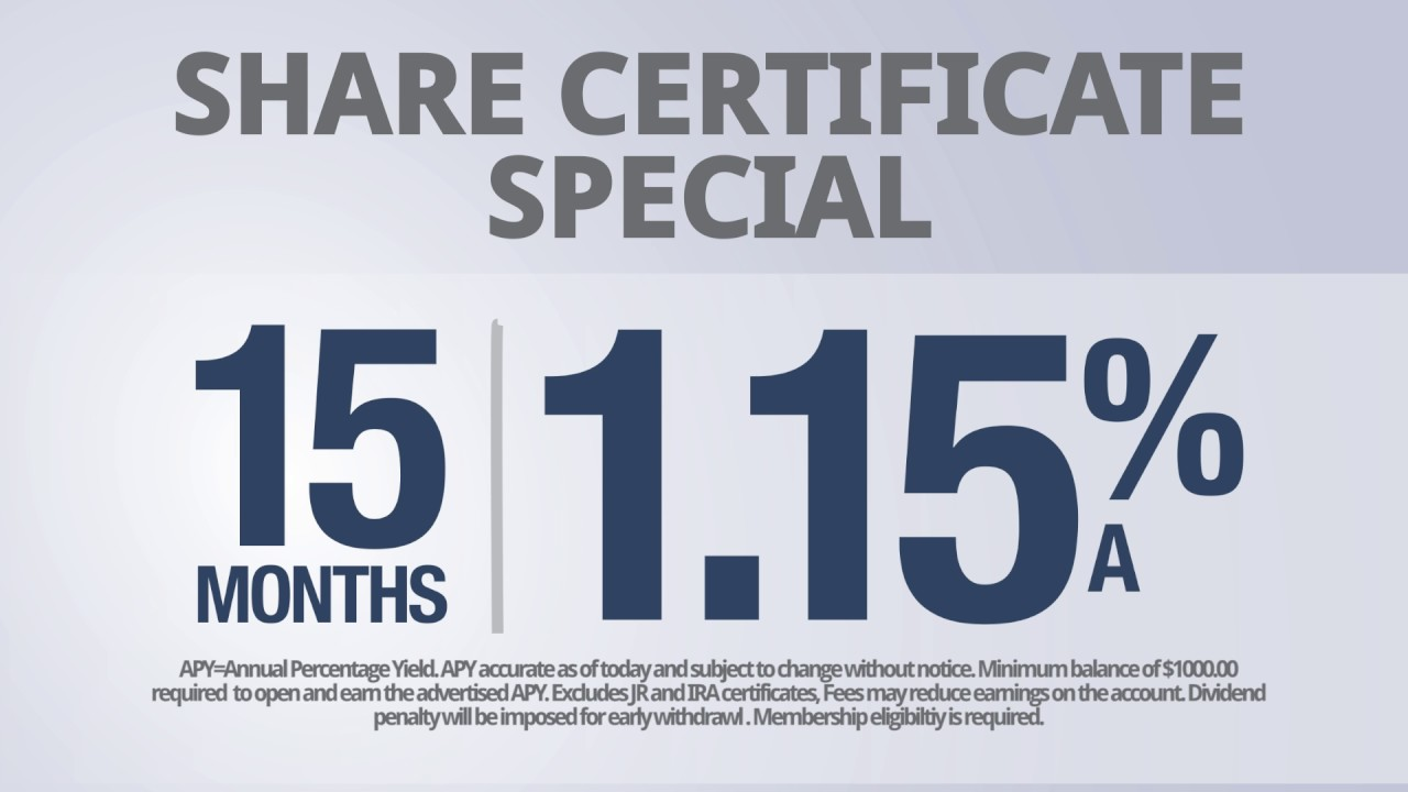 Share certificate special hancock federal credit union youtube share certificate special hancock federal credit union 1betcityfo Gallery
