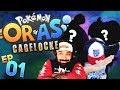 WHAT ARE THESE ENCOUNTERS?! | Pokemon ORAS Randomized Cagelocke w/ TheHeatedMo & TheKingNappy - 01