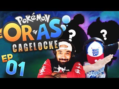 WHAT ARE THESE ENCOUNTERS?!   Pokemon ORAS Randomized Cagelocke w/ TheHeatedMo & TheKingNappy - 01