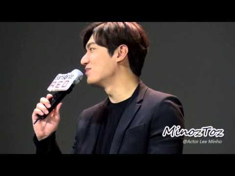 [직캠] 20150226 Samsonite Red Talk Concert Lee Min Ho By.MinozToz