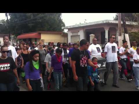 Entierro de Luis Guillermo en Salinas