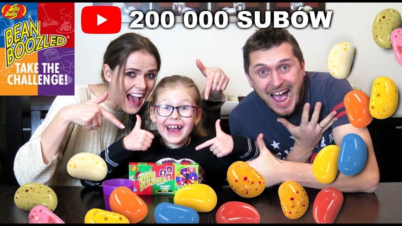 200 000 SUBSKRYPCJI – Bean Boozled Challenge z Rodzicami :)