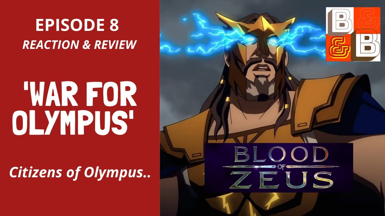 Download BLOOD OF ZEUS | Episode8 'War for Olympus' Season Finale Reaction & Review - Wonderful Way to End