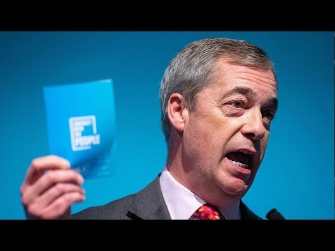 video: Friday evening news briefing: Nigel Farage targets immigration as he unveils Brexit Party's 'contract with the people