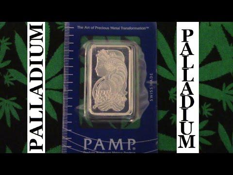 Palladium Bullion Bar 1 Ounce HD