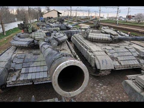 Заброшенный военный арсенал,